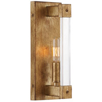Halcyon 1 Light 4 inch Antiqued Gold Leaf ADA Wall Sconce Wall Light