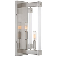 Varaluz 292W02SN Halcyon 2 Light 5 inch Satin Nickel Wall Sconce Wall Light