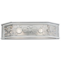 Fascination 2 Light 24 inch Metallic Silver Vanity Light Wall Light