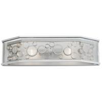 Varaluz 293B02MS Fascination 2 Light 24 inch Metallic Silver Vanity Light Wall Light