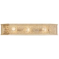 Fascination 3 Light 32 inch Zen Gold Vanity Light Wall Light