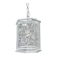 Fascination 1 Light 11 inch Metallic Silver Foyer Ceiling Light