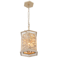 Fascination 1 Light 11 inch Zen Gold Pendant Ceiling Light