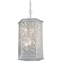 Fascination 6 Light 14 inch Metallic Silver Pendant Ceiling Light
