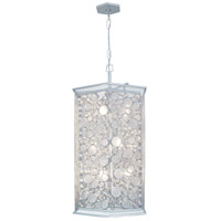 Fascination 9 Light 20 inch Metallic Silver Pendant Ceiling Light