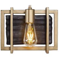 Varaluz 294B01RG Madeira LED 10 inch Rustic Gold Bath Vanity Wall Light