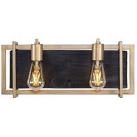 Varaluz 294B02RG Madeira LED 18 inch Rustic Gold Bath Vanity Wall Light