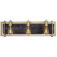 Madeira LED 26 inch Rustic Gold Bath Vanity Wall Light