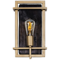 Varaluz 294W01RG Madeira LED 13 inch Rustic Gold Wall Sconce Wall Light