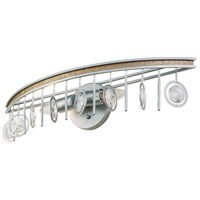 Charmed 2 Light 24 inch Silver with Champagne Mist Bath Vanity Wall Light