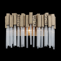 Varaluz 309B01HG Matrix 1 Light 8 inch Havana Gold Bath Vanity Wall Light