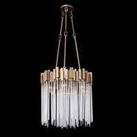 Matrix 6 Light 19 inch Havana Gold Pendant Ceiling Light