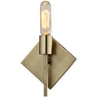 Varaluz 310B01AB Museum 1 Light 7 inch Antique Brass Bath Vanity Light Wall Light