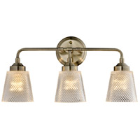 Varaluz 312B03AB Westport 3 Light 21 inch Antique Brass Bath Vanity Wall Light