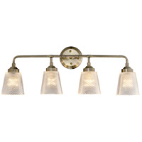 Varaluz 312B04AB Westport 4 Light 30 inch Antique Brass Bath Vanity Wall Light