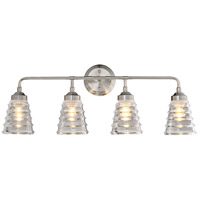 Amherst 4 Light 29 inch Brushed Nickel Bath Vanity Wall Light
