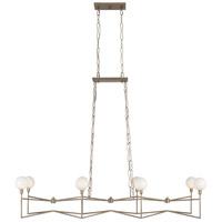 Varaluz 314N08HG Bodie LED 54 inch Havana Gold Linear Pendant Ceiling Light