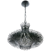 Varaluz 320C03CBAG Rikki 3 Light 18 inch Carbon and Aged Gold Chandelier Ceiling Light alternative photo thumbnail