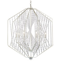 Varaluz 321P06SO Chelsea 6 Light 26 inch Silverado Pendant Ceiling Light