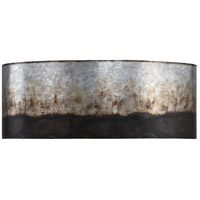 Cannery 2 Light 16 inch Ombre Galvanized Bath Vanity Light Wall Light