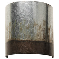 Varaluz 323W01OG Cannery 1 Light 10 inch Ombre Galvanized Wall Sconce Wall Light