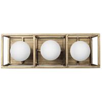 Varaluz 325B03HGCB Plaza LED 14 inch Havana Gold and Carbon Bath Vanity Light Wall Light