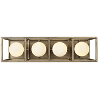 Varaluz 325B04HGCB Plaza LED 19 inch Havana Gold and Carbon Wall Sconce Wall Light alternative photo thumbnail