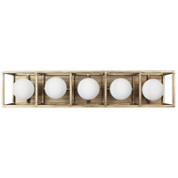 Varaluz 325B05HGCB Plaza LED 24 inch Havana Gold and Carbon Wall Sconce Wall Light