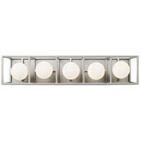 Varaluz 325B05SOCB Plaza LED 24 inch Silverado and Carbon Bath Vanity Light Wall Light