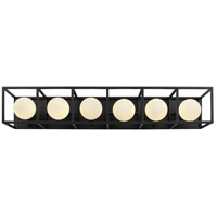 Varaluz 325B06CBHG Plaza LED 28 inch Carbon and Havana Gold Wall Sconce Wall Light alternative photo thumbnail