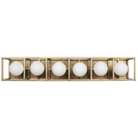 Varaluz 325B06HGCB Plaza LED 28 inch Havana Gold and Carbon Wall Sconce Wall Light