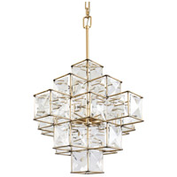 Varaluz 329P06CG Cubic 6 Light 19 inch Calypso Gold Pendant Ceiling Light