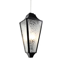 Varaluz Longfellow 4 Light Pendant in Black 331P04BL