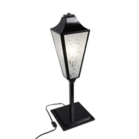 Varaluz Longfellow 1 Light Table Lamp in Black 331T01BL