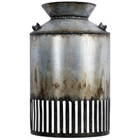 Varaluz 335W01OG Hickory Lane 1 Light 6 inch Ombre Galvanized and Black ADA Wall Sconce Wall Light