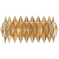 Varaluz 342B02FG Forever 2 Light 19 inch French Gold Bath/Vanity Wall Light
