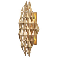 French Gold Steel Wall Sconces