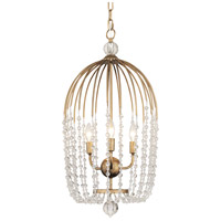 Varaluz 343F03HG Voliere 3 Light 15 inch Havana Gold Pendant Ceiling Light