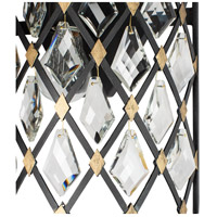 Carbon/Havana Gold Steel Wall Sconces