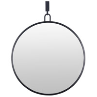 Round Stopwatch 30 X 24 inch Black Wall Mirror Home Decor, Varaluz Casa