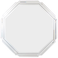Octagonal Weave 34 X 34 inch Mirrored Mirror Home Decor, Varaluz Casa