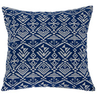 Tribal 18 X 5 inch Blue Throw Pillow in Tribal Blue, Varaluz Casa