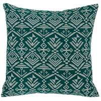 Tribal 18 X 5 inch Green Throw Pillow in Tribal Green, Varaluz Casa