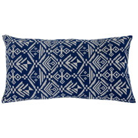 Tribal Blue Throw Pillow, Varaluz Casa
