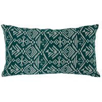 Tribal 18 X 4 inch Green Throw Pillow in Tribal Green, Varaluz Casa