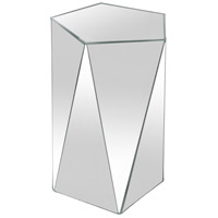 Pentagonal Mirrored Accent Table Home Decor, Varaluz Casa