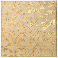 Casa Ivory and Gold Canvas Wall Art, Varaluz Casa