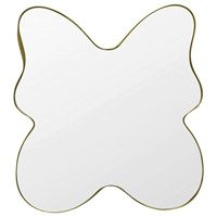 Varaluz 4DMI0122 Flutter 30 X 28 inch Gold and Clear Wall Mirror photo thumbnail