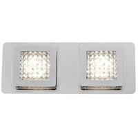 Varaluz 610600 Quad Goals LED 12 inch Polished Chrome Bath Vanity Wall Light