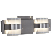 Varaluz 611170 Restraint LED 14 inch Polished Chrome Vanity Wall Light